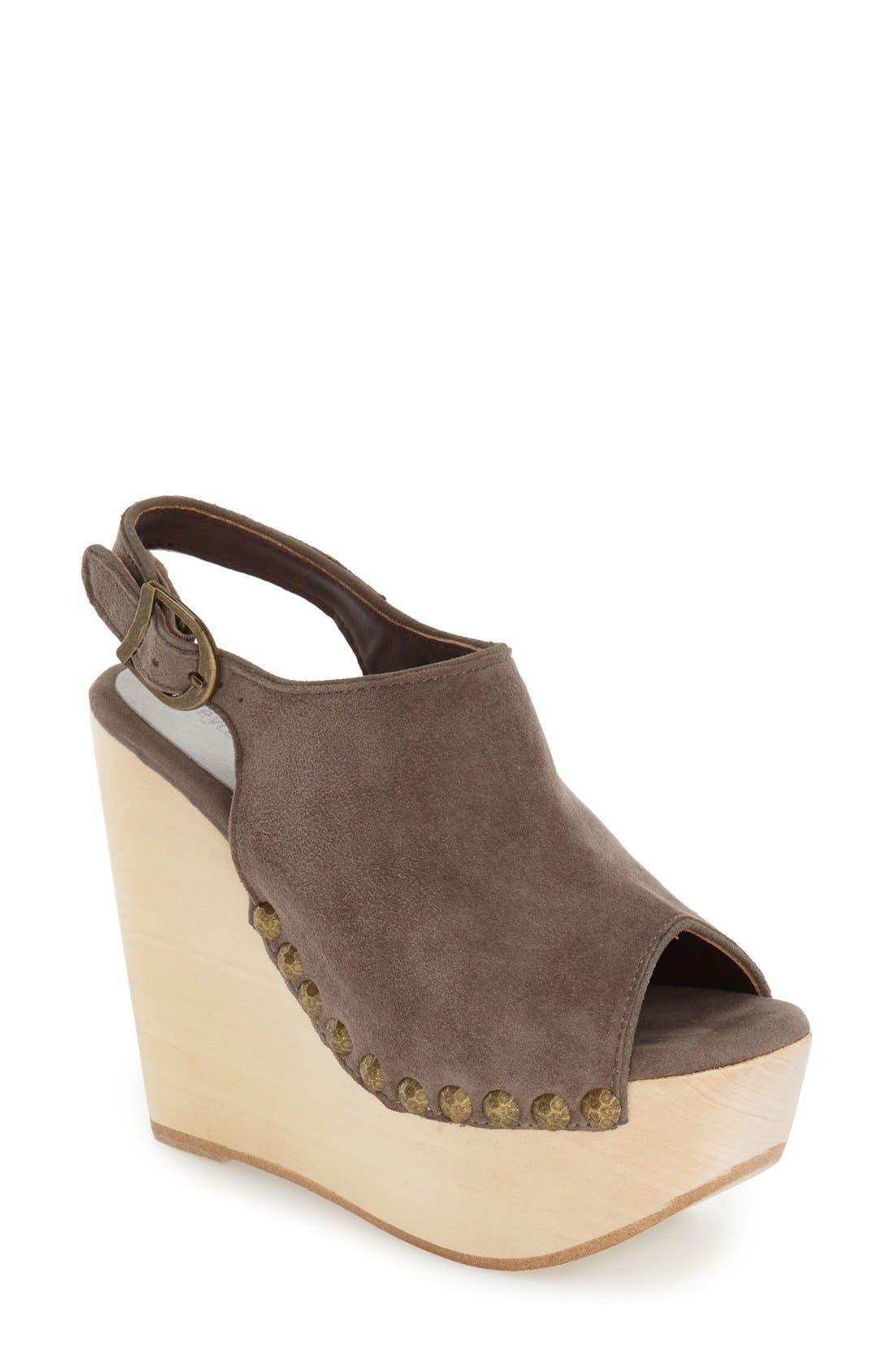 Alternate Image 1 Selected - Jeffrey Campbell 'Snick' Platform Sandal