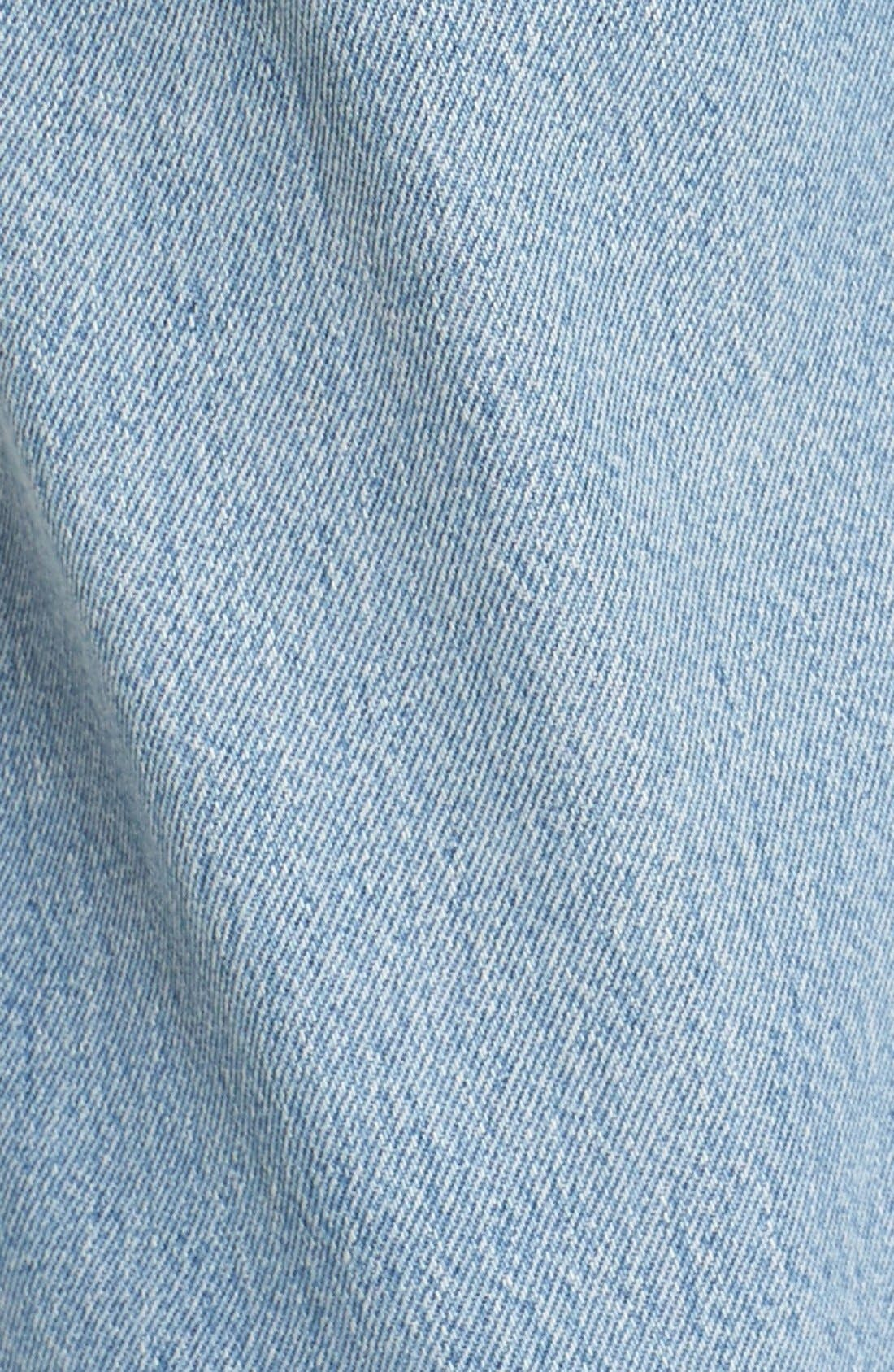 'The Relaxed Crop' Reconstructed Jeans,                             Alternate thumbnail 5, color,                             No Destruction