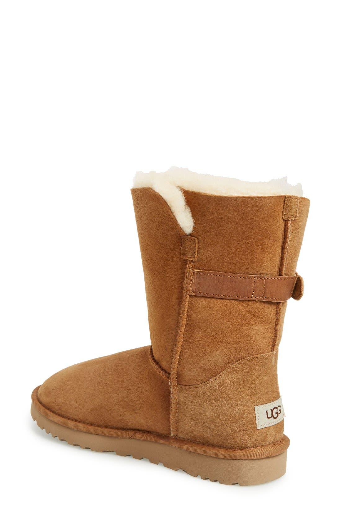 Alternate Image 2  - UGG® Nash Genuine Shearling Boot (Women)