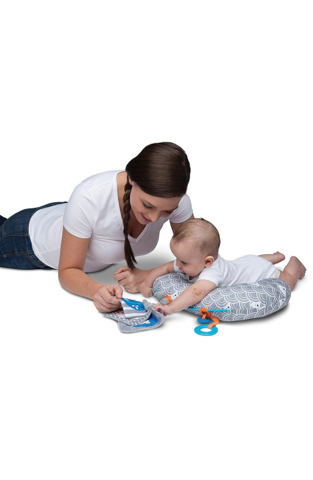 Alternate Image 5  - Boppy 'Tummy Time - SlideLine Collection' Mini Pillow, Book & Teething Ring (Baby)