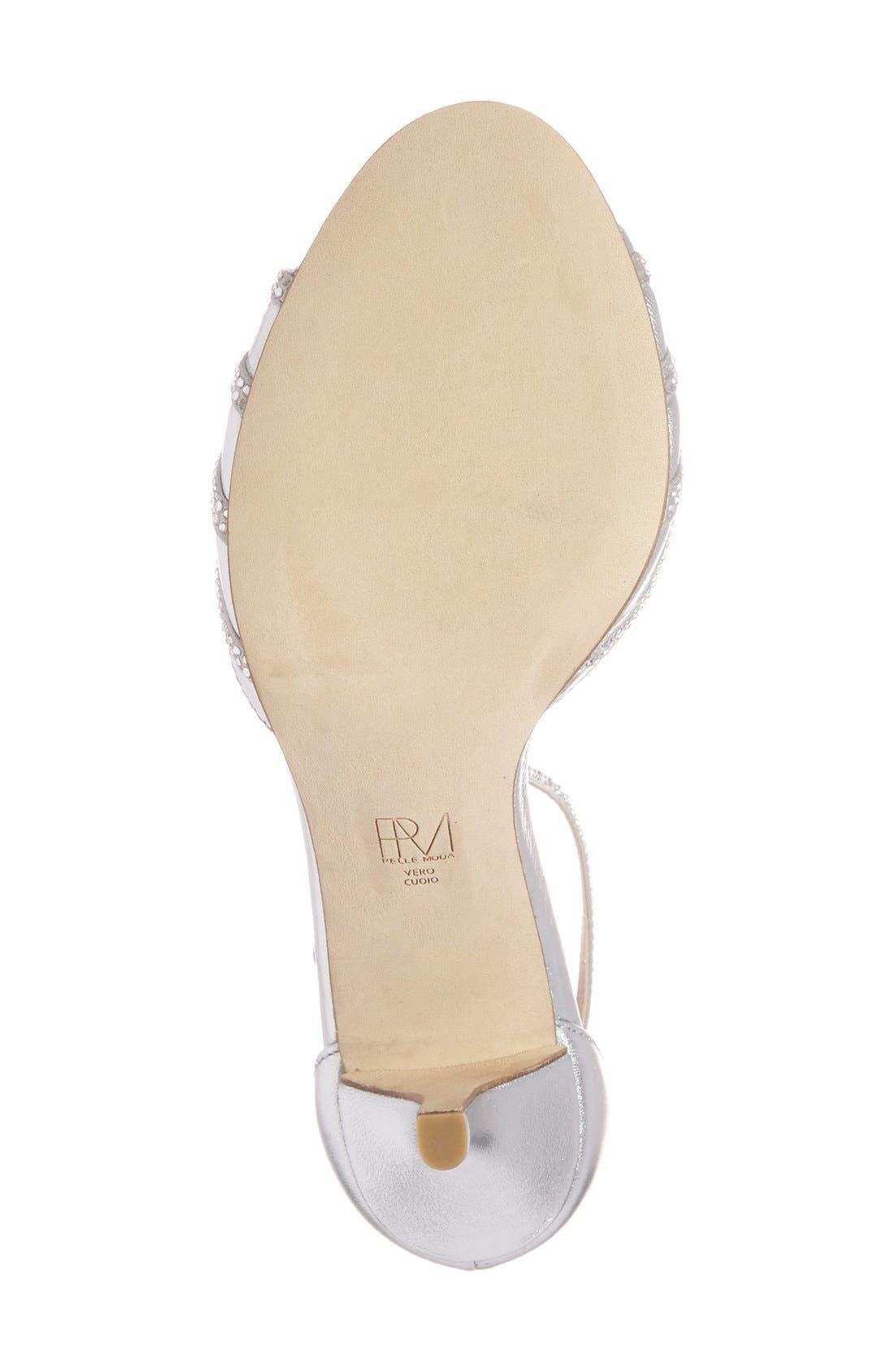 Alternate Image 4  - Pelle Moda 'Isabel' Crystal Embellished d'Orsay Sandal (Women)