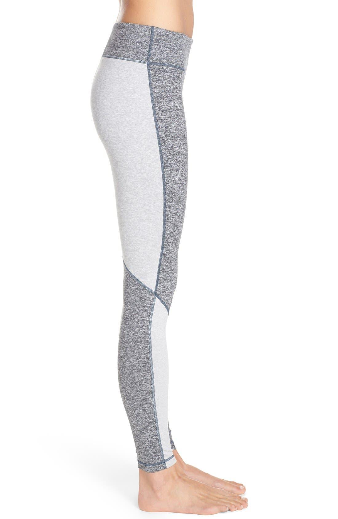 Alternate Image 3  - Zella 'Progression' Colorblock Leggings