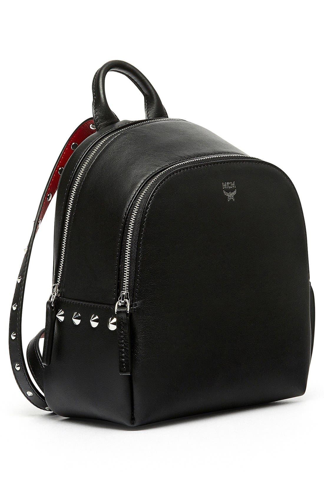 Alternate Image 5  - MCM 'Mini Duchess' Leather Backpack