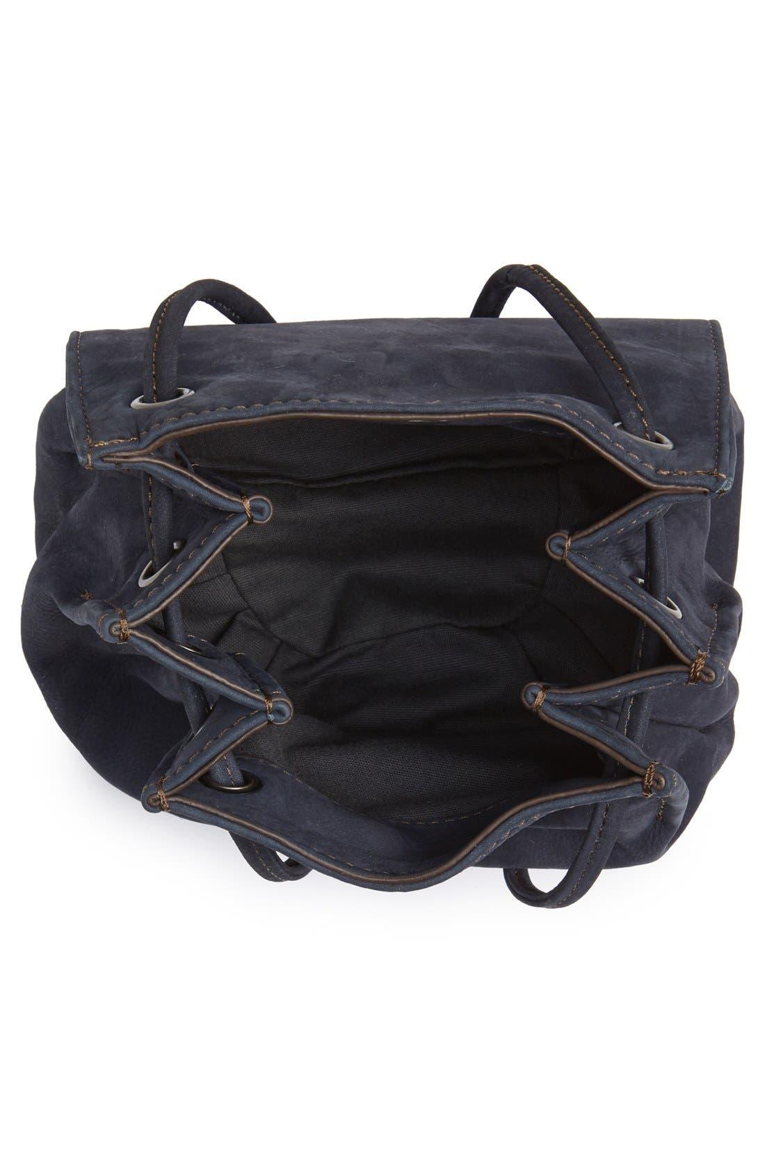 Alternate Image 5  - Treasure&Bond Tasseled Leather Bucket Bag
