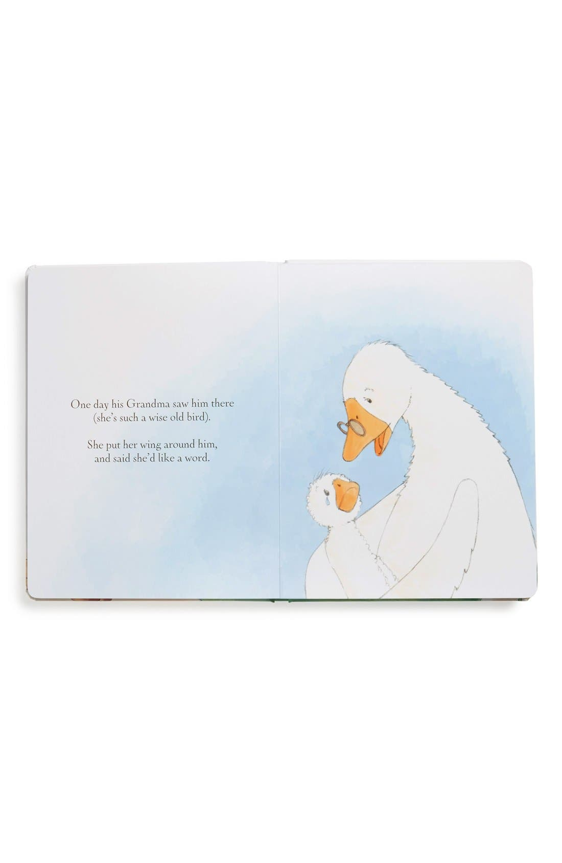 'James the Goose Learns to Swim' Board Book,                             Alternate thumbnail 2, color,                             Cream