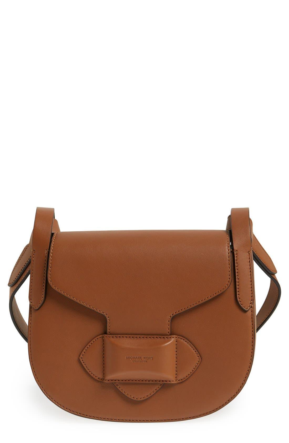 Michael Kors 'Small Daria' Leather Crossbody Bag