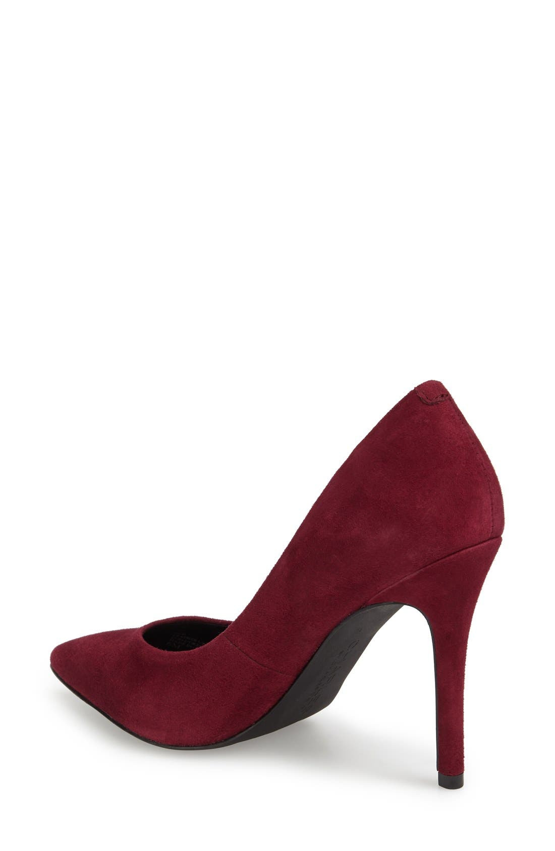 'Pact' Pump,                             Alternate thumbnail 2, color,                             Merlot Suede