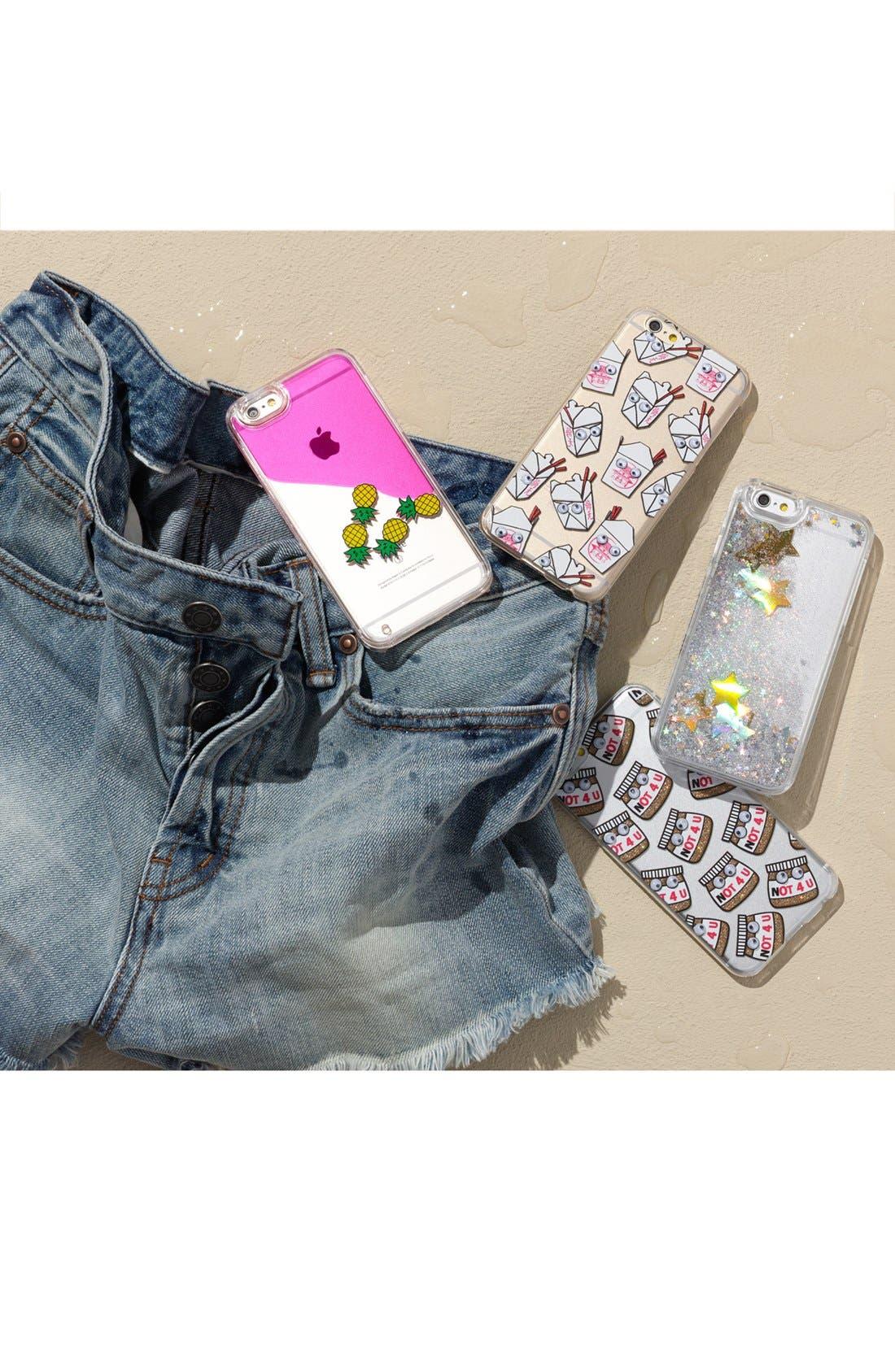 Alternate Image 2  - Skinnydip Not 4 U iPhone 6/6s Case