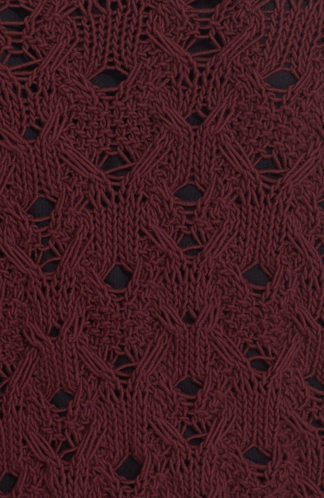 Alternate Image 6  - Public School Cotton Blend Cable Knit Sweater