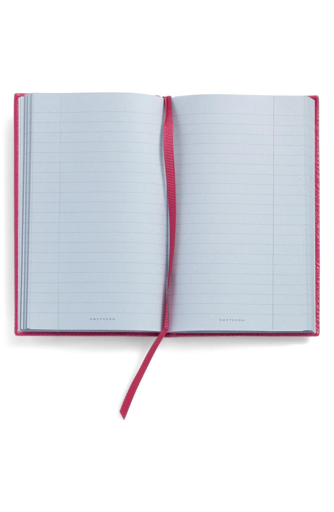 Alternate Image 2  - Smythson 'Inspirations and Ideas - Panama' Pocket Notebook