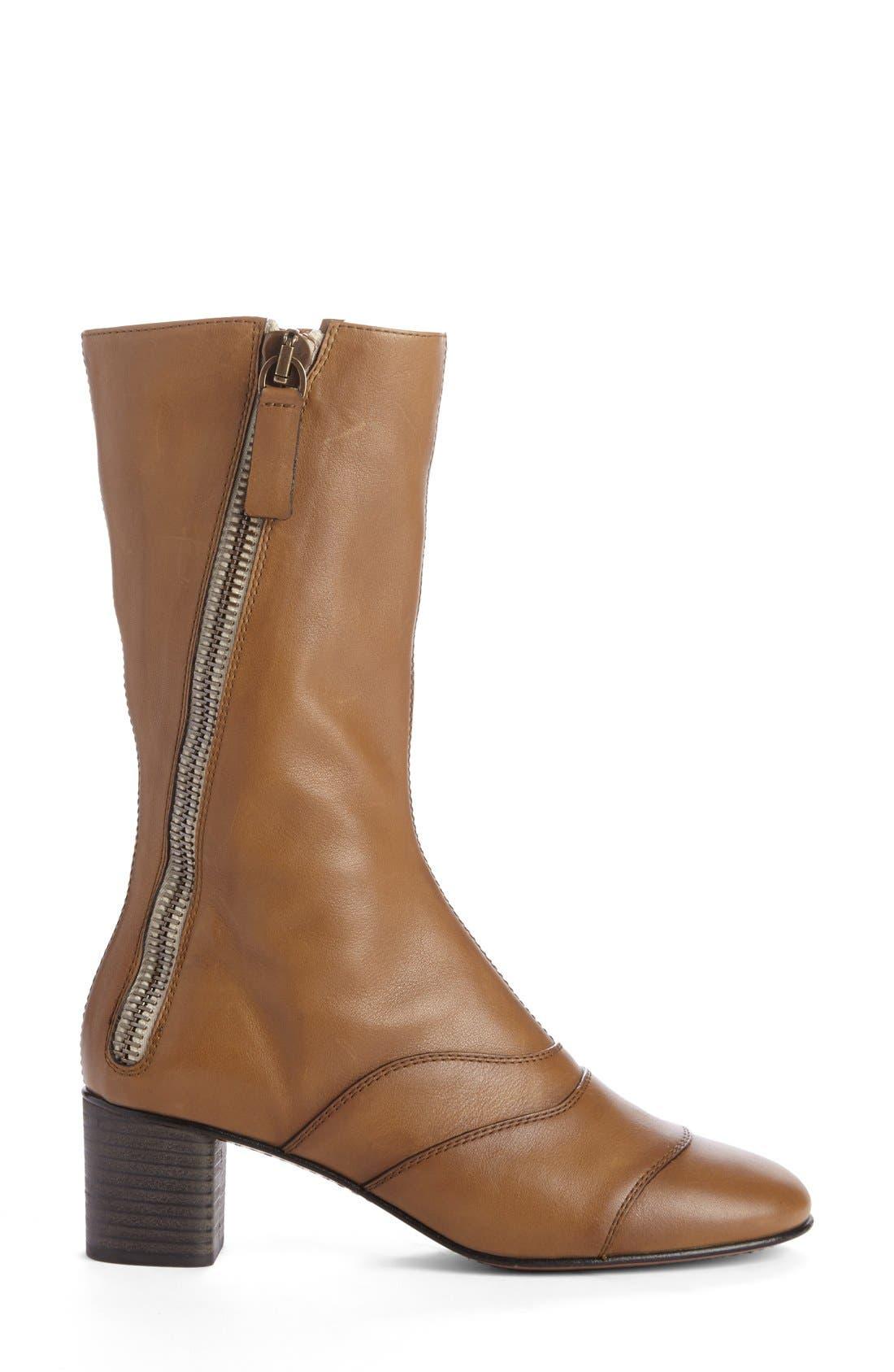 Alternate Image 3  - Chloé 'Lexie' Block Heel Boot (Women)