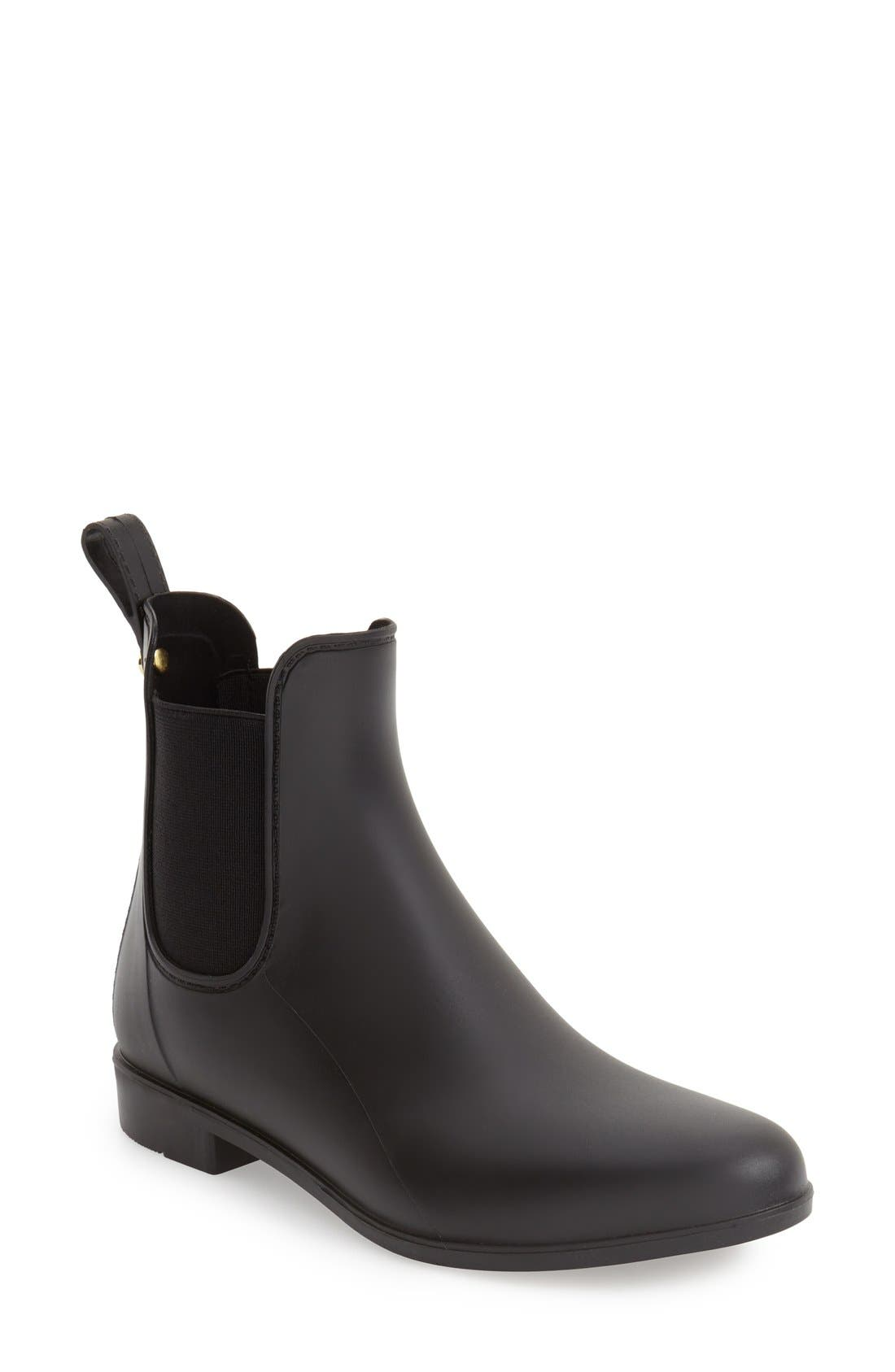 'Tinsley' Rain Boot,                             Main thumbnail 1, color,                             Matte Black