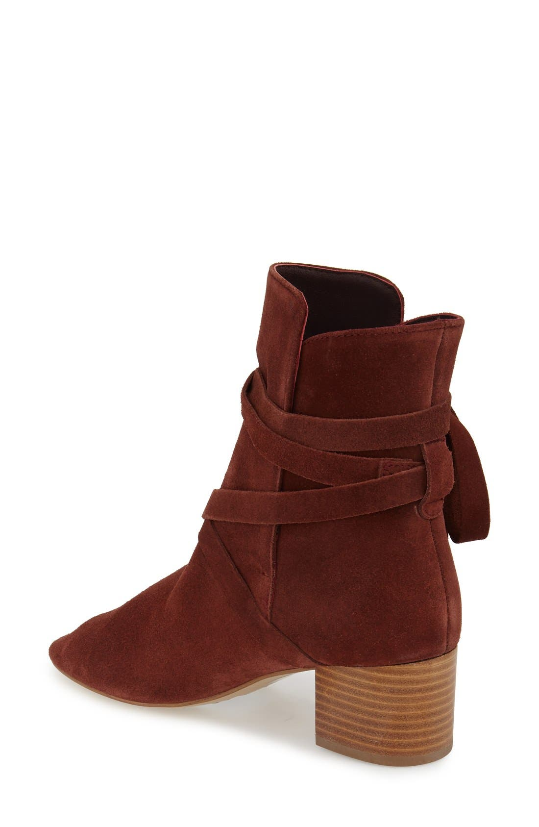 Alternate Image 2  - Topshop 'Anabel' Lace-Up Boots (Women)
