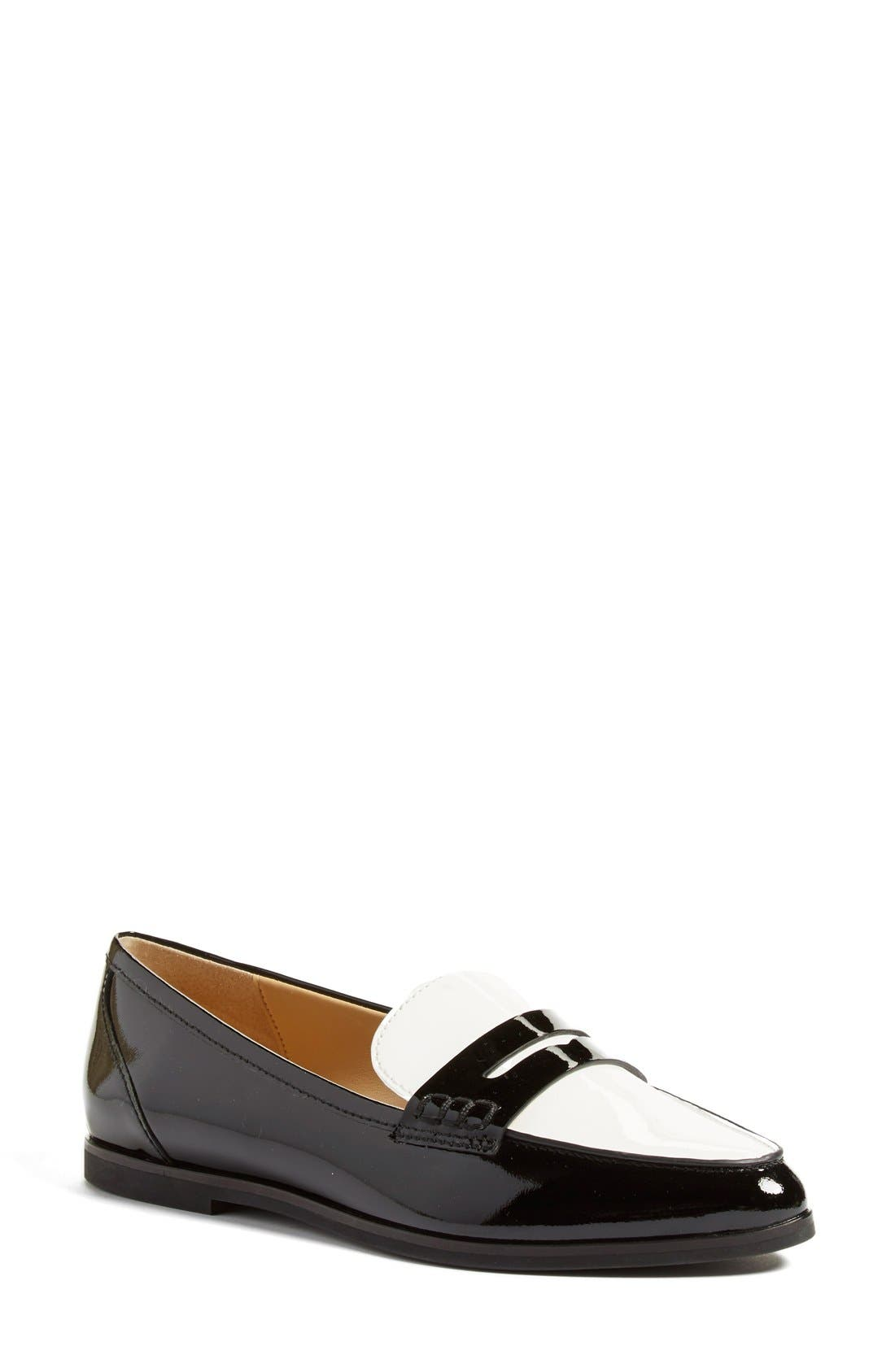 Alternate Image 1 Selected - MICHAEL Michael Kors 'Connor' Penny Loafer (Women)