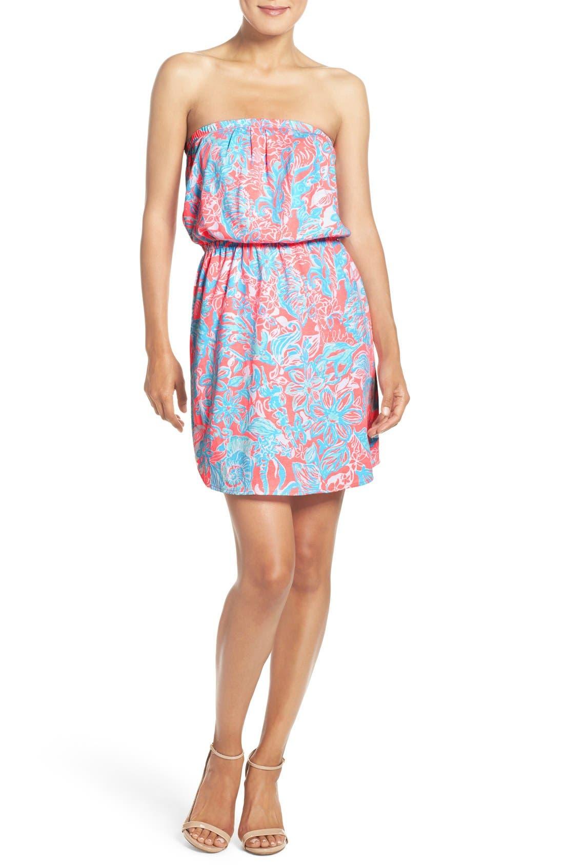 Alternate Image 3  - Lilly Pulitzer® 'Windsor' Pima Cotton Blouson Dress