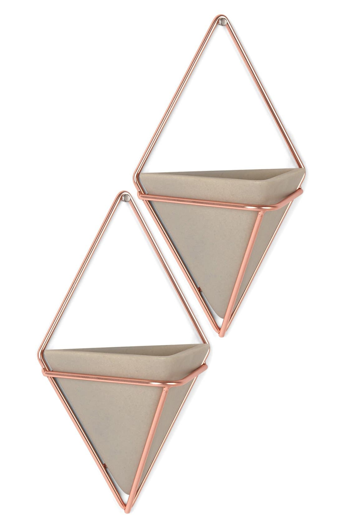 Alternate Image 1 Selected - Umbra 'Trigg Small' Wall Vessel (Set of 2)