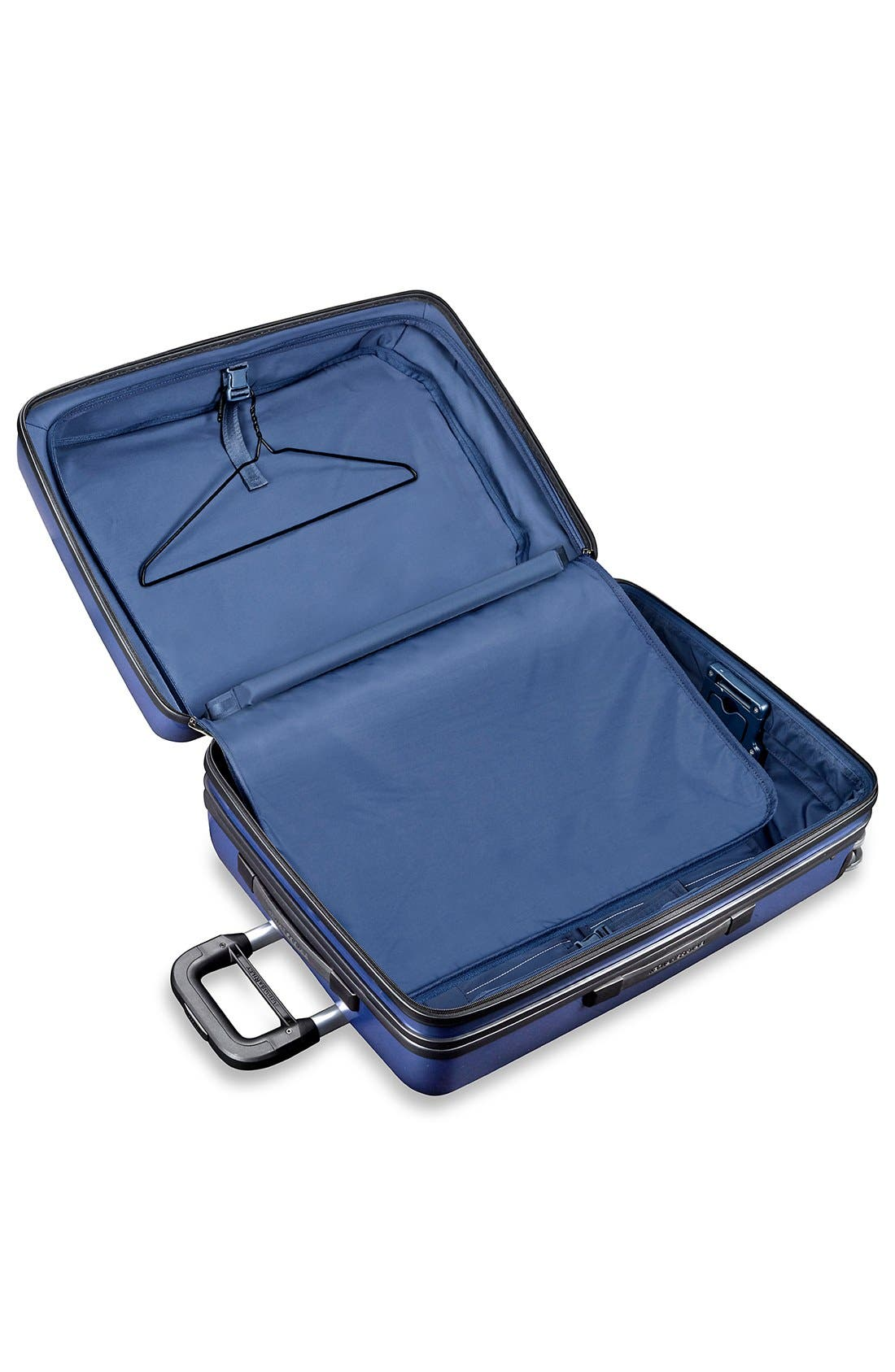 'Sympatico' Expandable Wheeled Packing Case,                             Alternate thumbnail 3, color,                             Marine Blue