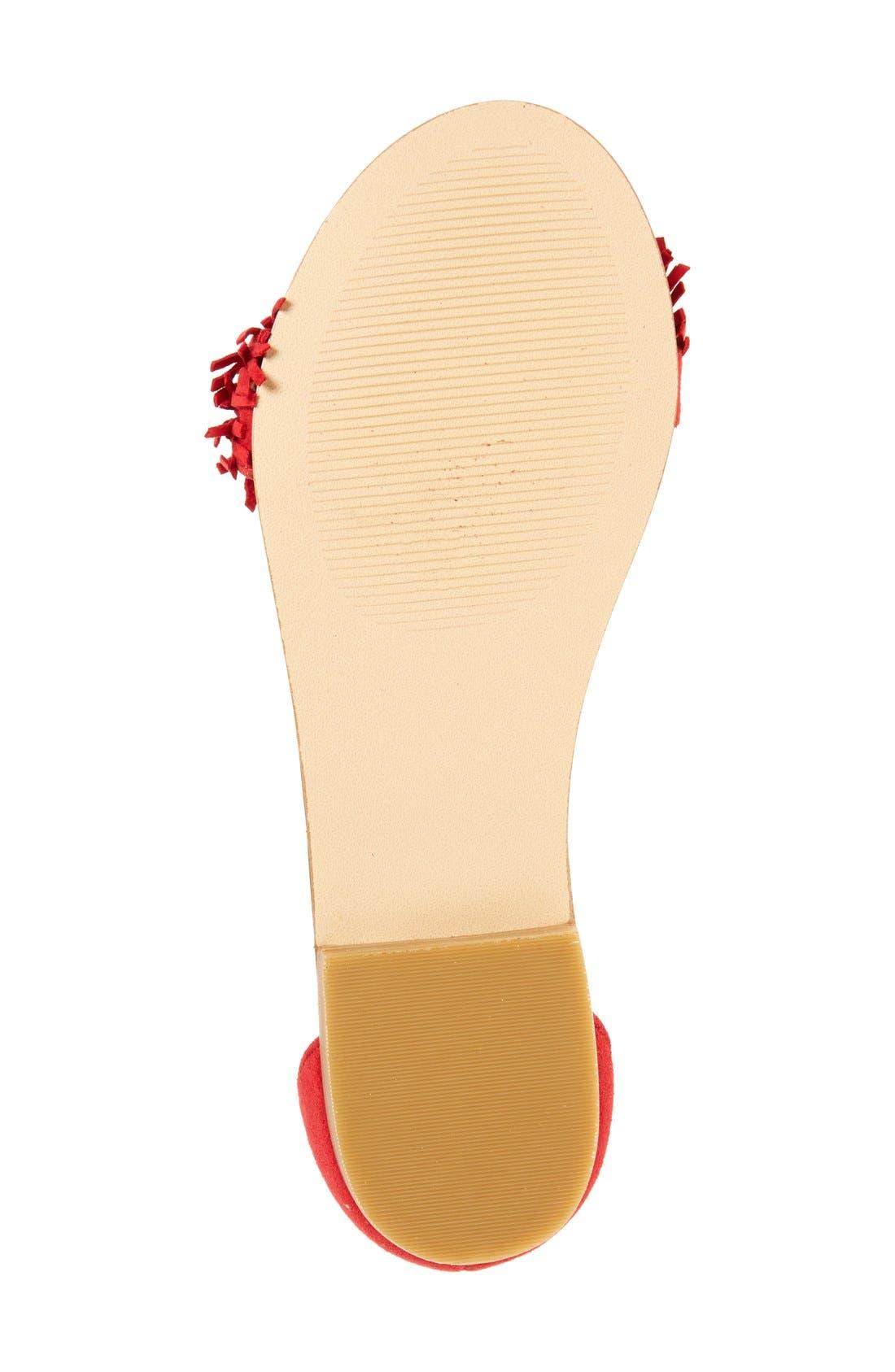 Alternate Image 4  - Steve Madden 'Sweetyy' Lace-Up Sandal (Women)