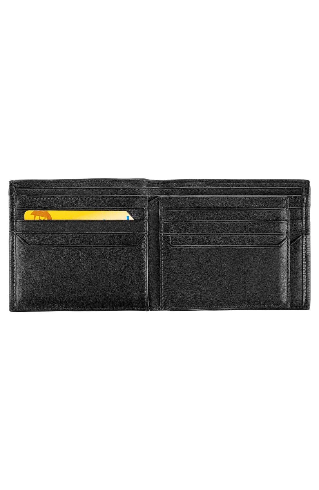 Monaco Global Billfold Wallet,                             Alternate thumbnail 3, color,                             Black