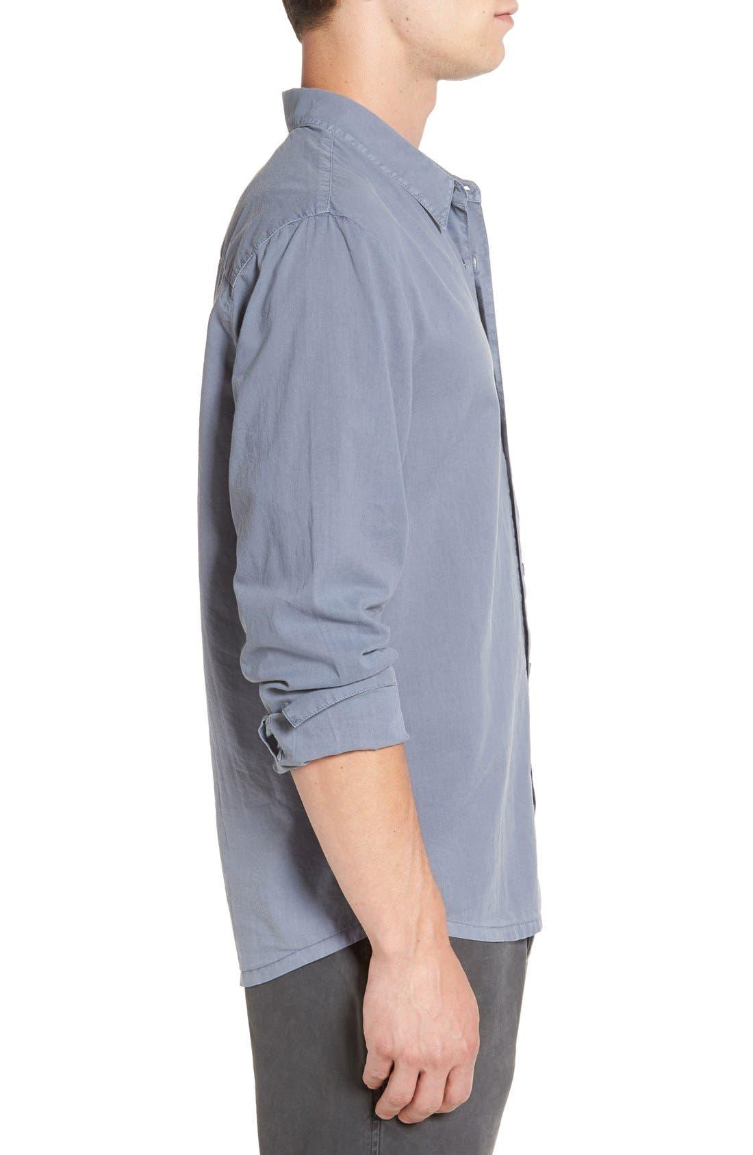 Alternate Image 3  - James Perse 'Classics' Cotton Lawn Shirt