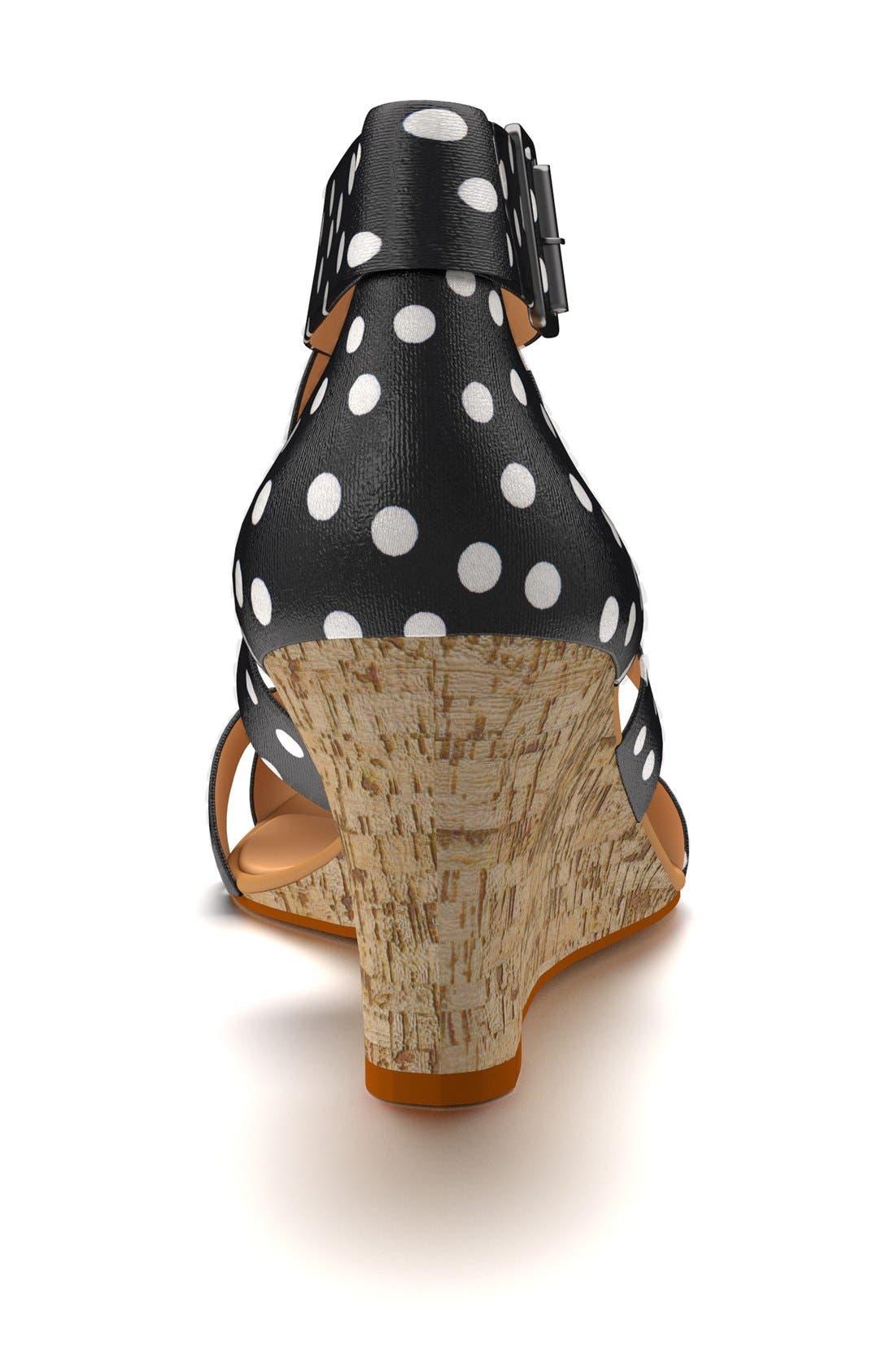 Alternate Image 2  - Shoes of Prey Crisscross Strap Wedge Sandal (Women)