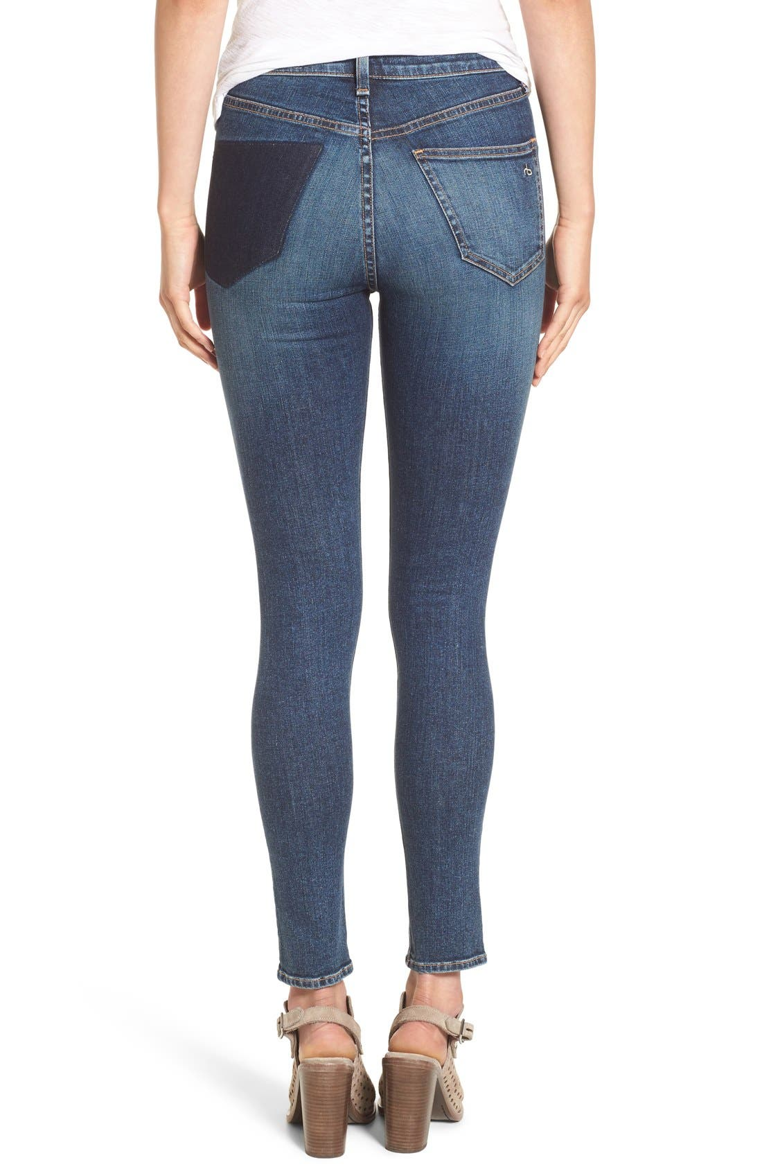 Alternate Image 1 Selected - rag & bone/JEAN 'Dive' Jeans (Eddy)