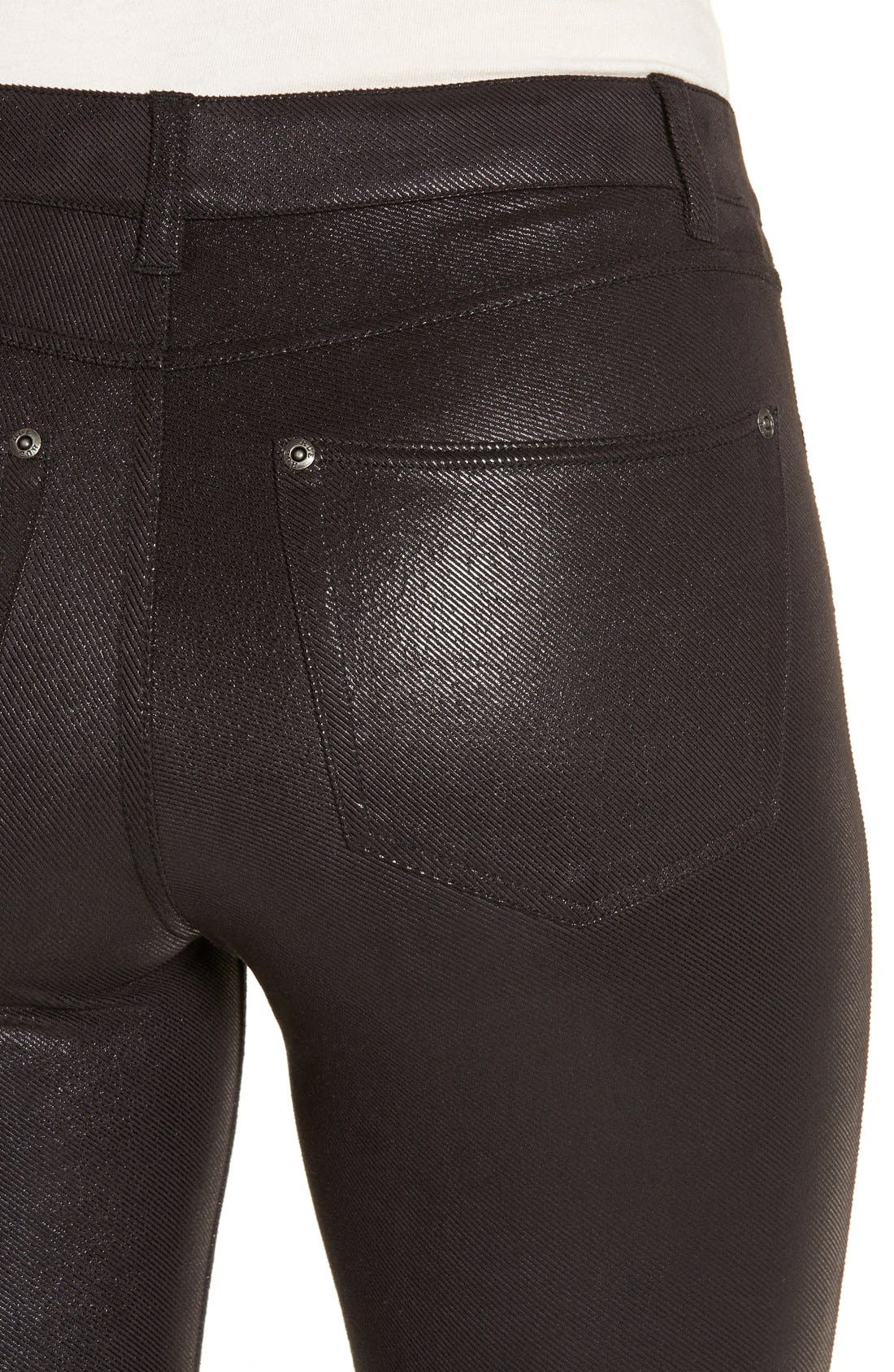 Alternate Image 4  - Hue 'Topcoat' Leggings