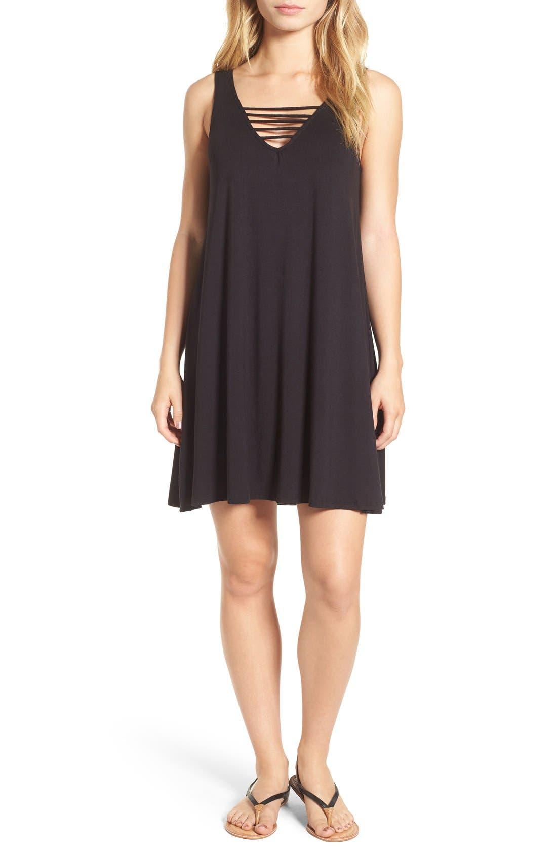 Main Image - Socialite 'Serena' Strappy Tank Dress