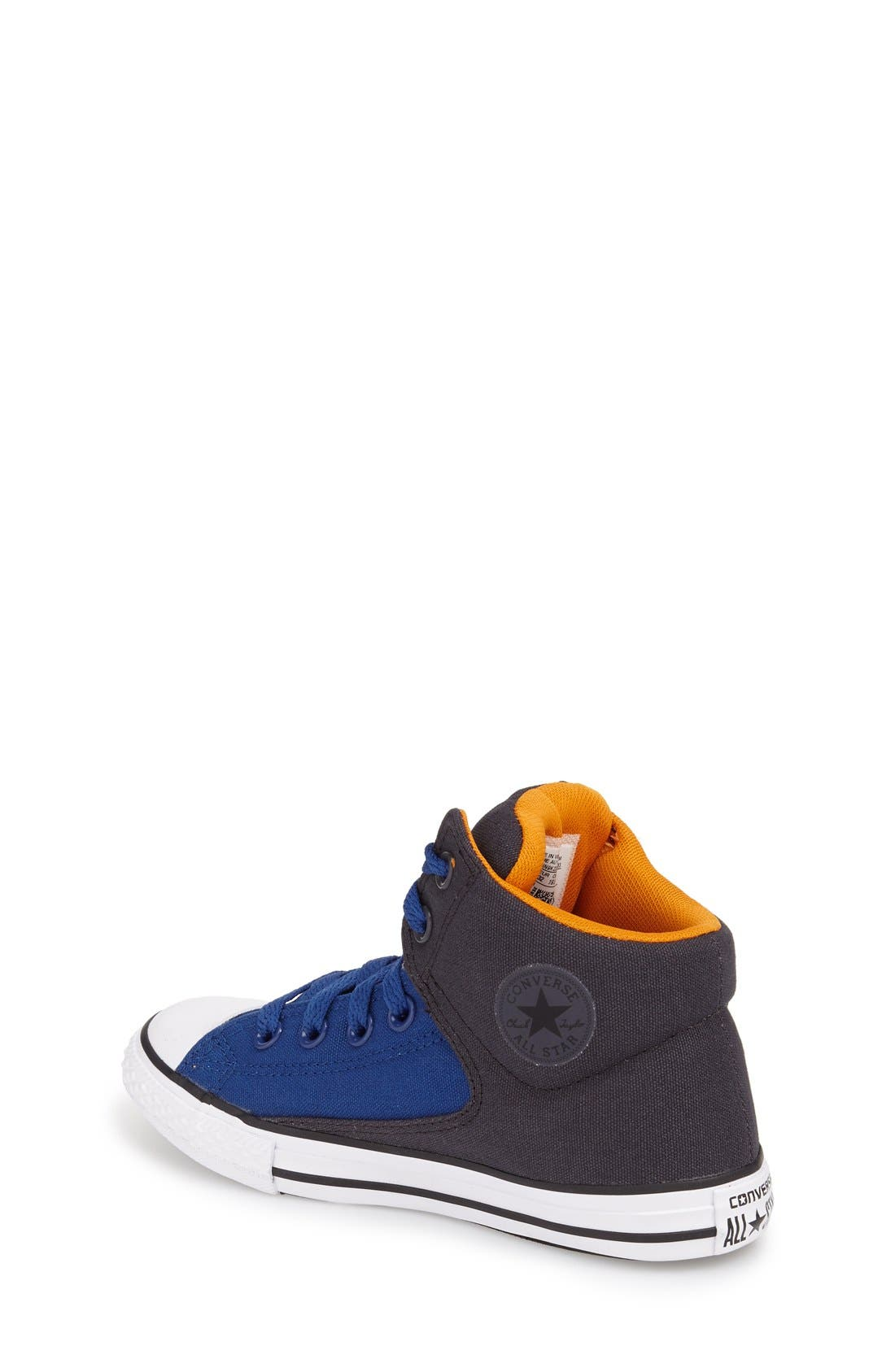 Chuck Taylor<sup>®</sup> All Star<sup>®</sup> 'High Street' Mid Rise Sneaker,                             Alternate thumbnail 2, color,                             Blue