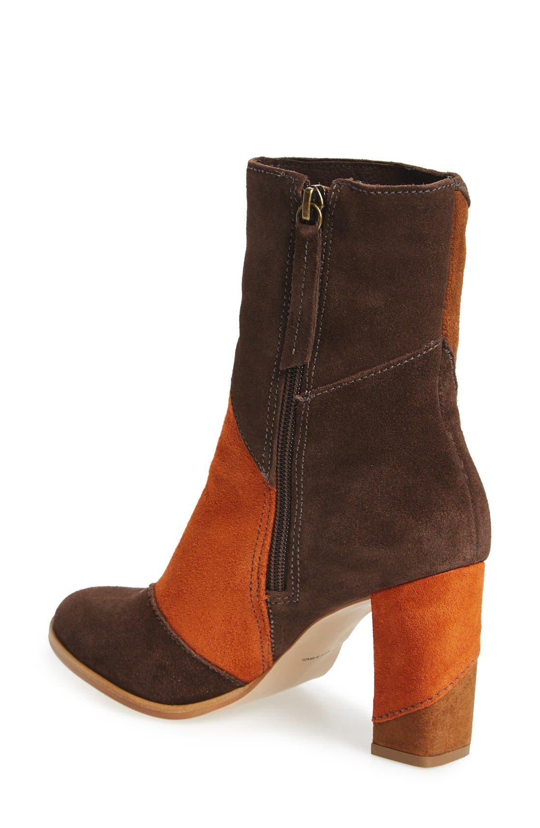 Alternate Image 2  - Matisse Jigsaw Block Heel Bootie (Women)