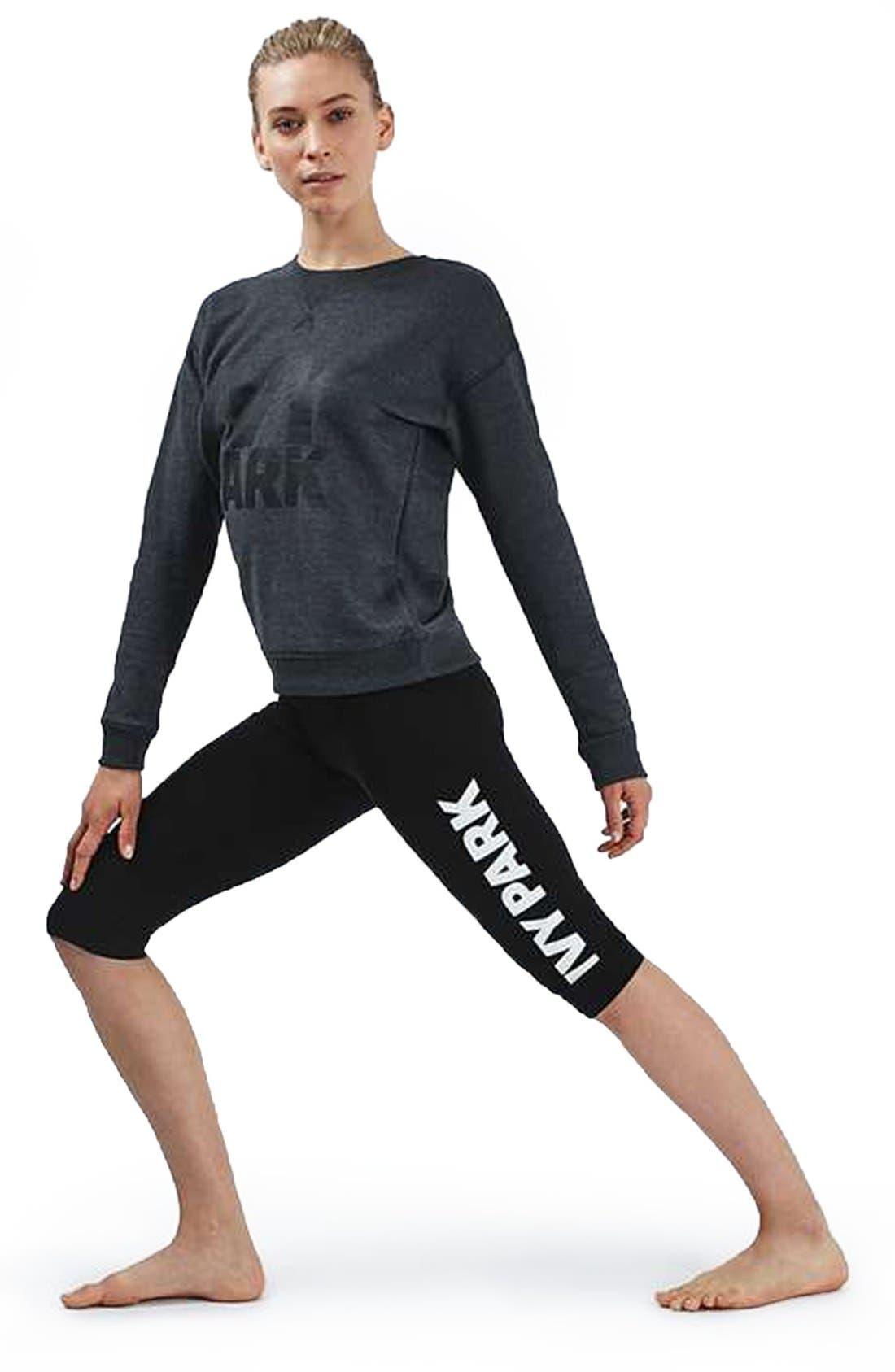 Alternate Image 2  - IVY PARK® Logo Capri Leggings