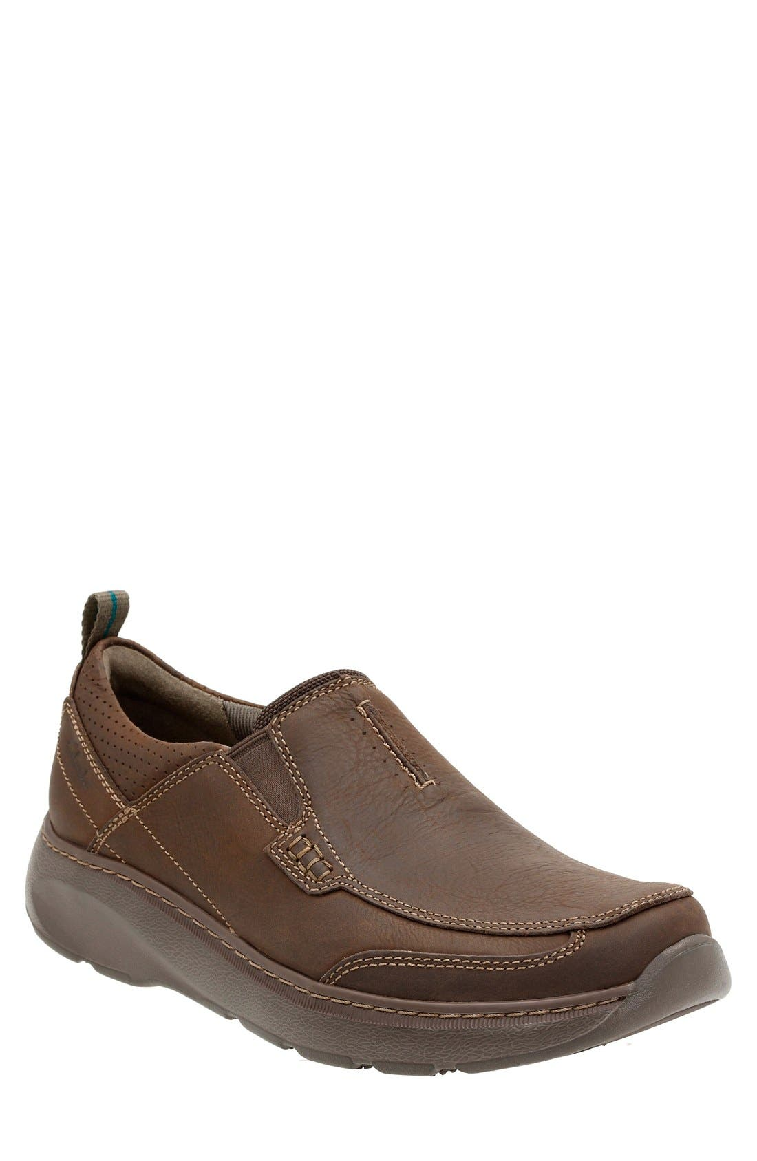 'Charton Step' Slip-On,                         Main,                         color, Dark Brown
