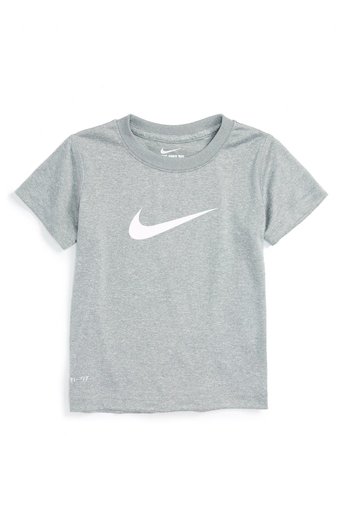 Nike 'Legend' Short Sleeve T-Shirt (Toddler Boys)