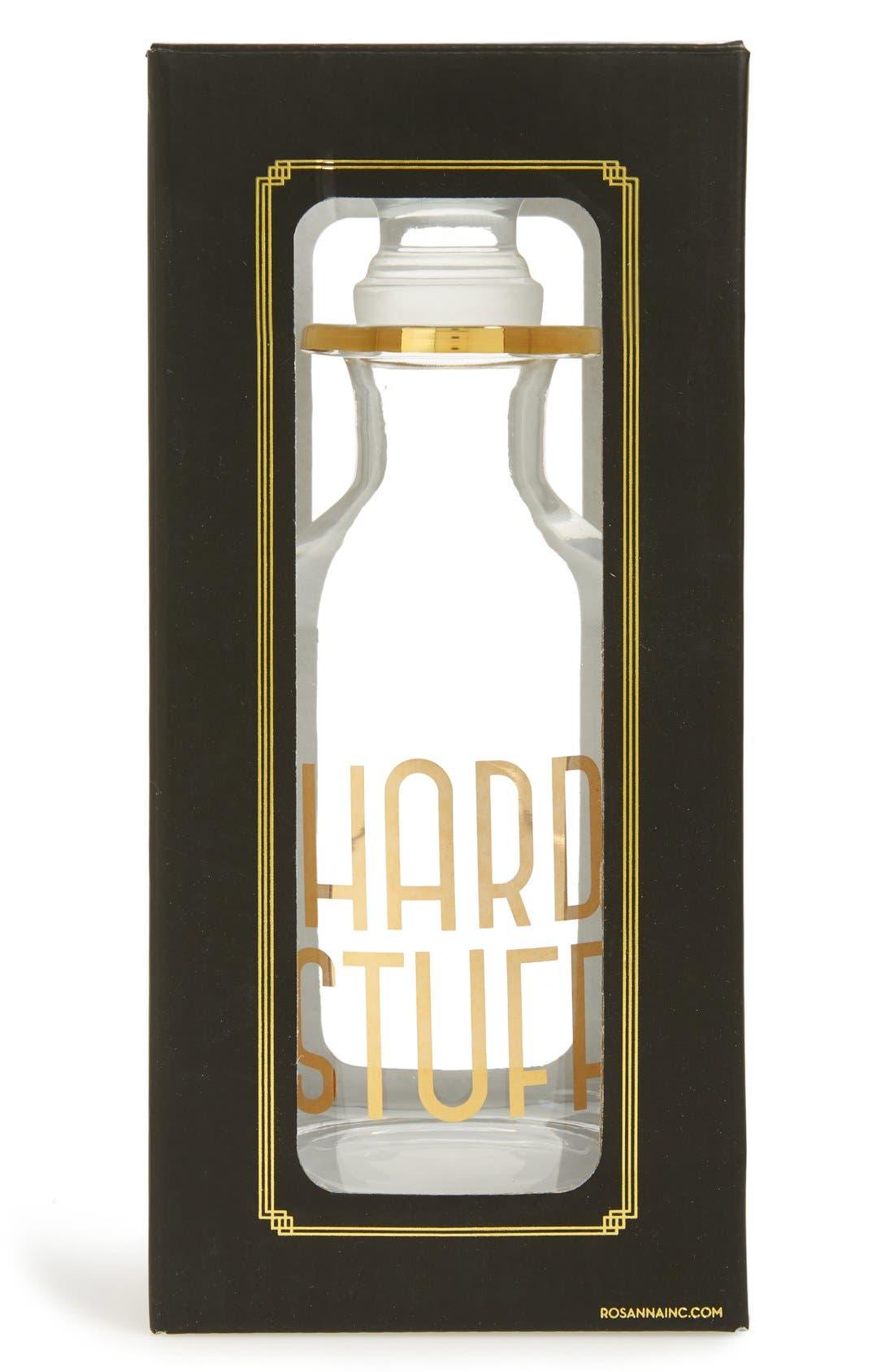Alternate Image 2  - Rosanna 'Hard Stuff' Glass Decanter & Stopper