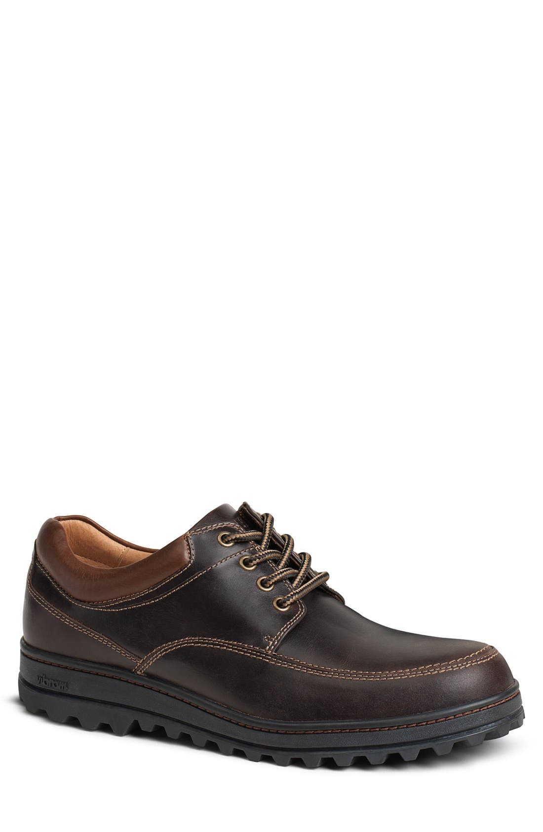 'Westcott' Moc Toe Derby,                         Main,                         color, Bourbon