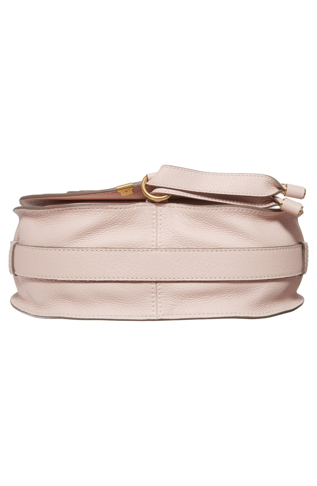 'Marcie - Medium' Leather Crossbody Bag,                             Alternate thumbnail 6, color,                             Abstract White