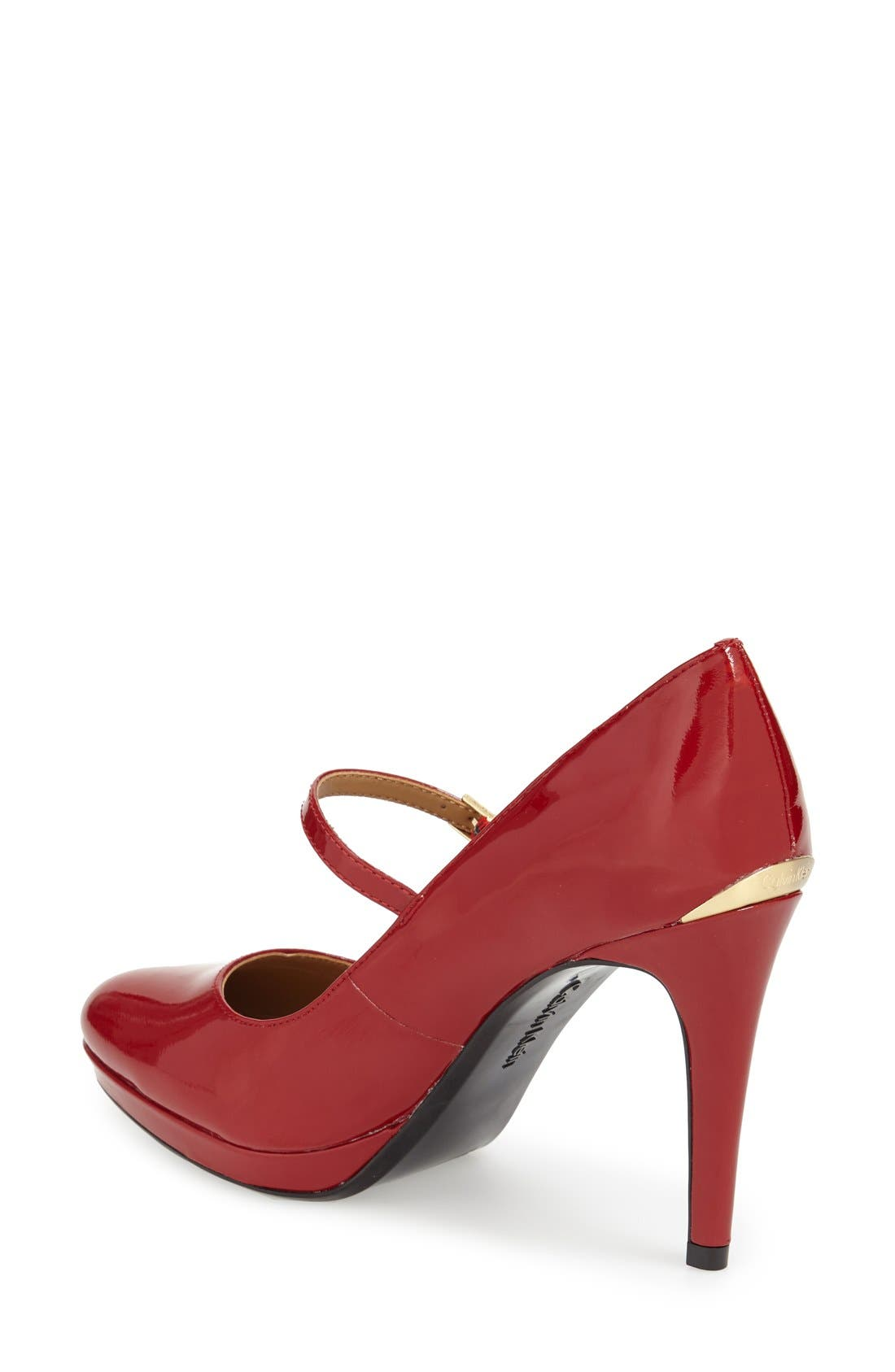 Alternate Image 2  - Calvin Klein 'Paislie' Mary Jane Pump (Women)