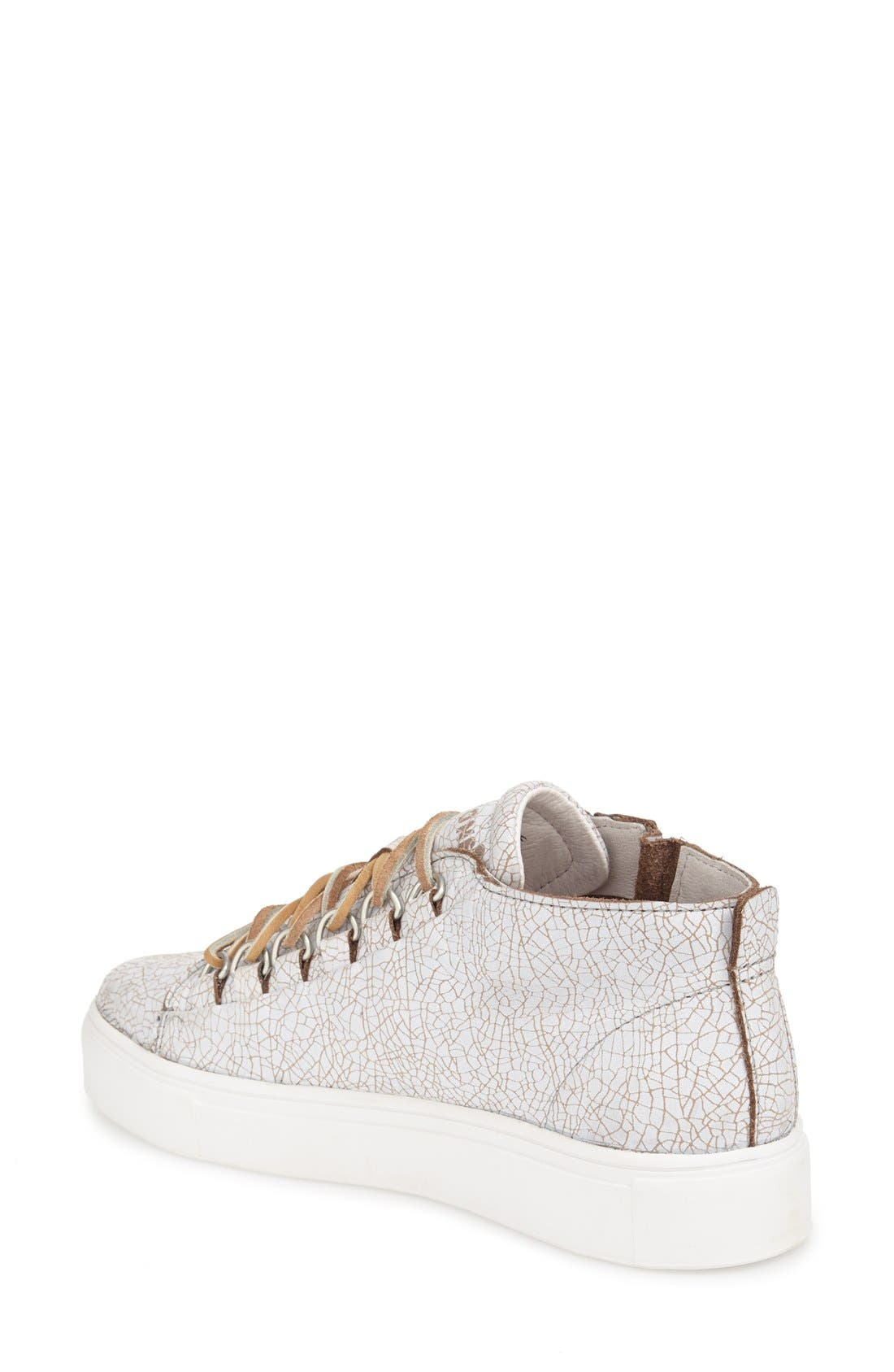 'LL60' Midi Sneaker,                             Alternate thumbnail 2, color,                             Hazel/ White Leather