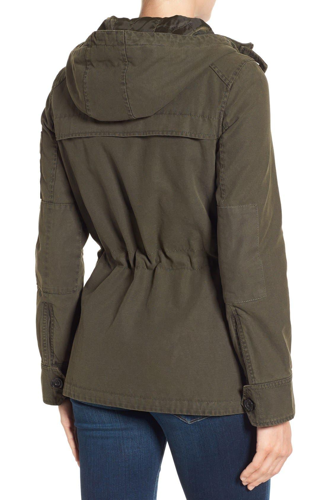 Alternate Image 2  - Levi's® Cotton Twill Utility Jacket