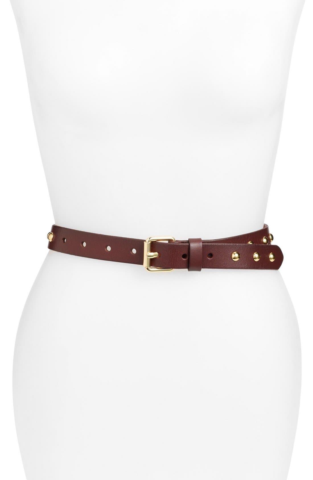 REBECCA MINKOFF Jane Leather Belt