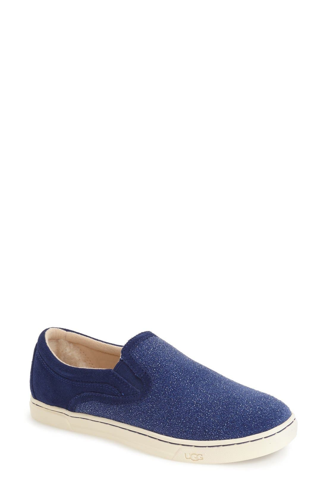 Fierce Slip-On Sneaker,                         Main,                         color, Night Sky Fabric