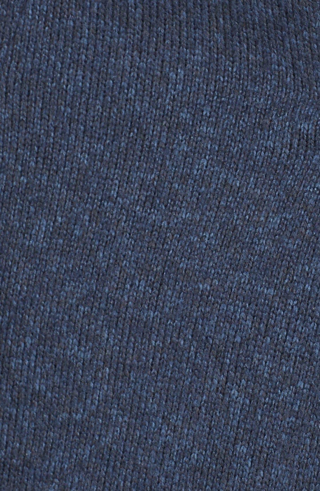 'Better Sweater<sup>®</sup>' Fleece Coat,                             Alternate thumbnail 5, color,                             Classic Navy