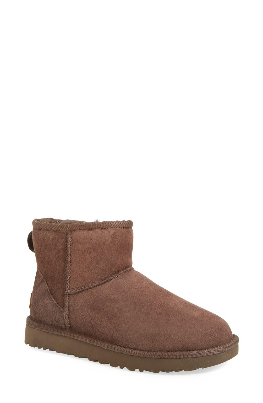 Alternate Image 1 Selected - UGG® 'Classic Mini II' Genuine Shearling Lined Boot (Women)