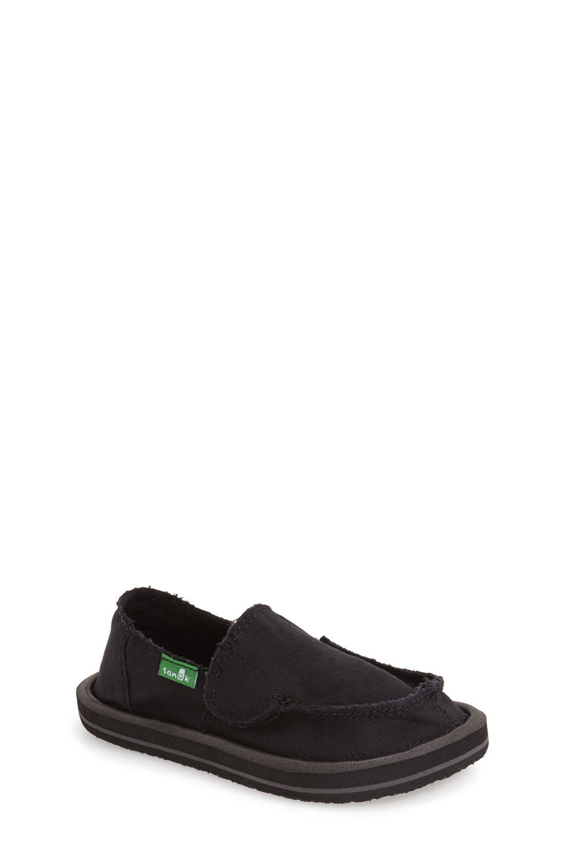 Sanuk 'Donny & Donna' Slip-On (Toddler, Little Kid & Big Kid)