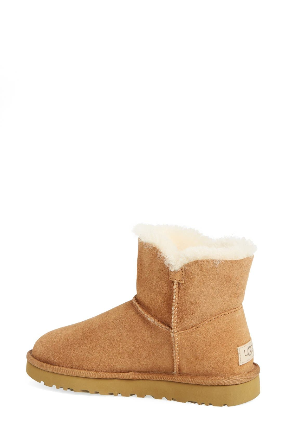 Alternate Image 2  - UGG® 'Mini Bailey Button II' Boot (Women)