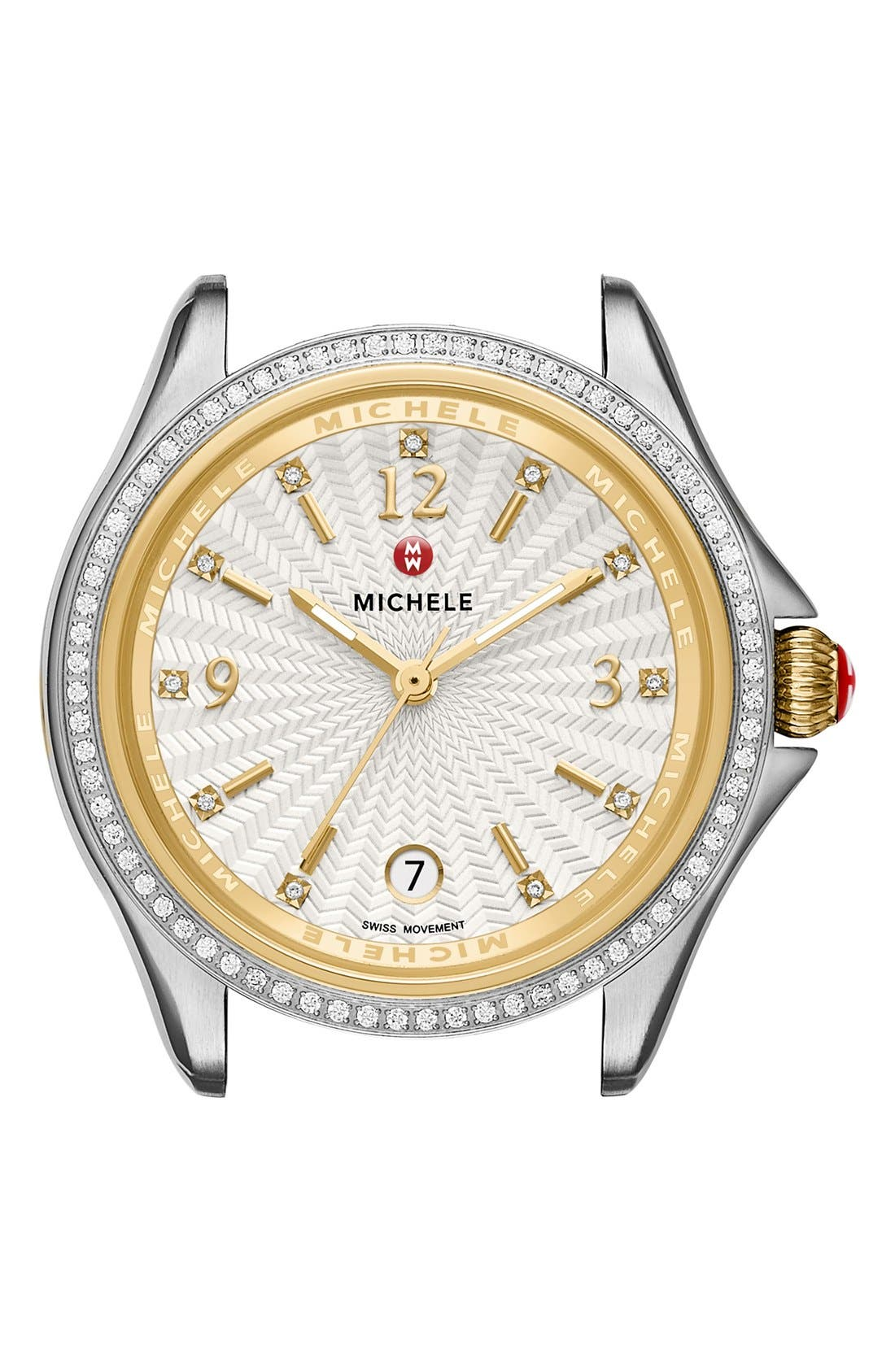 Main Image - MICHELE Belmore Watch Case, 34mm
