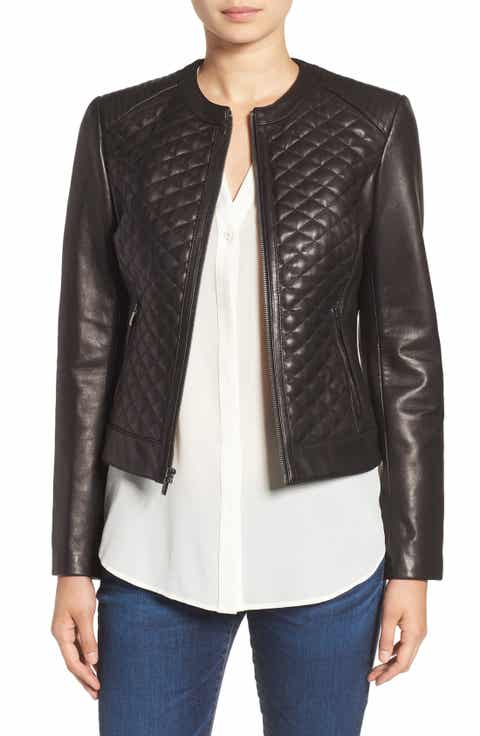 Cole Haan Outerwear for Women | Nordstrom : cole haan leather jacket diamond quilted - Adamdwight.com