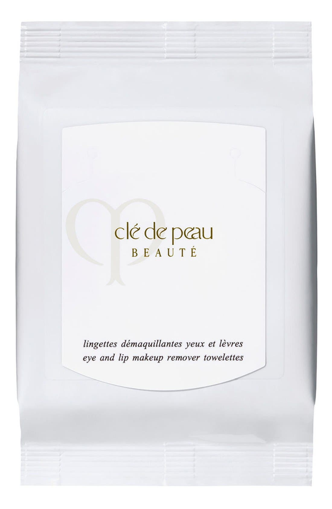 Clé de Peau Beauté Eye & Lip Makeup Remover Sheets
