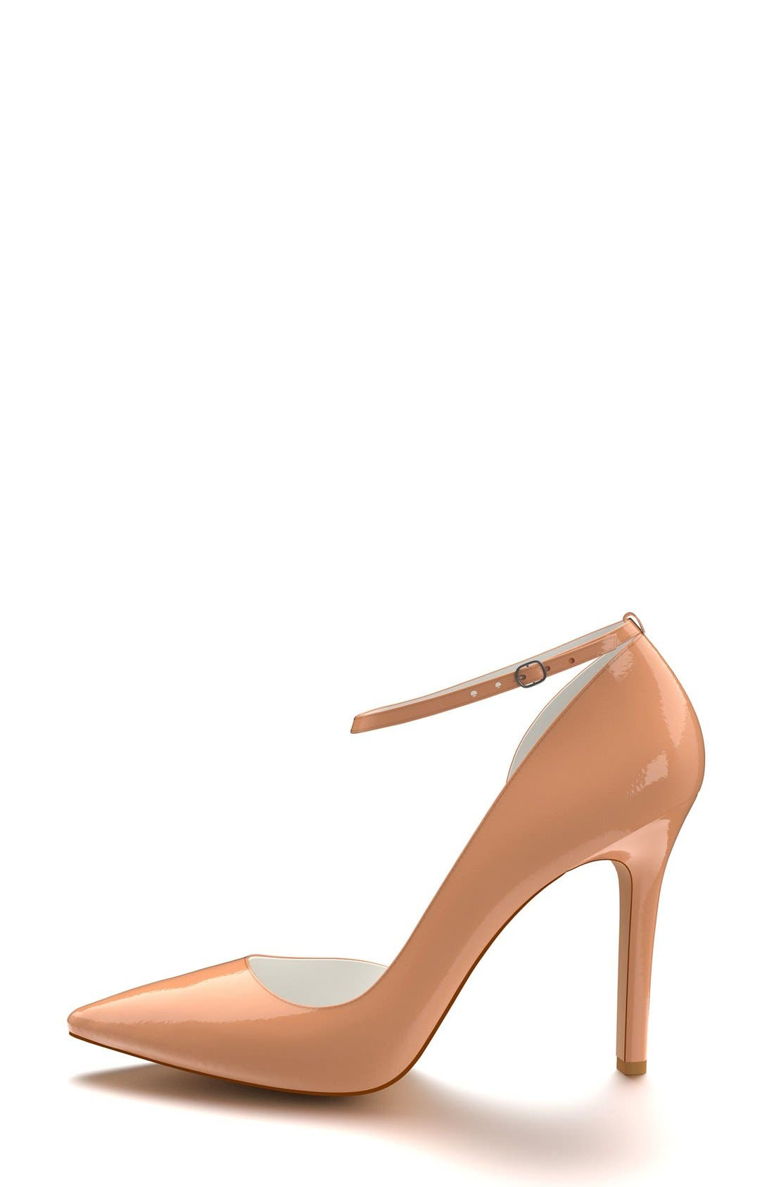 Alternate Image 4  - Shoes of Prey Ankle Strap d'Orsay Pump (Women)