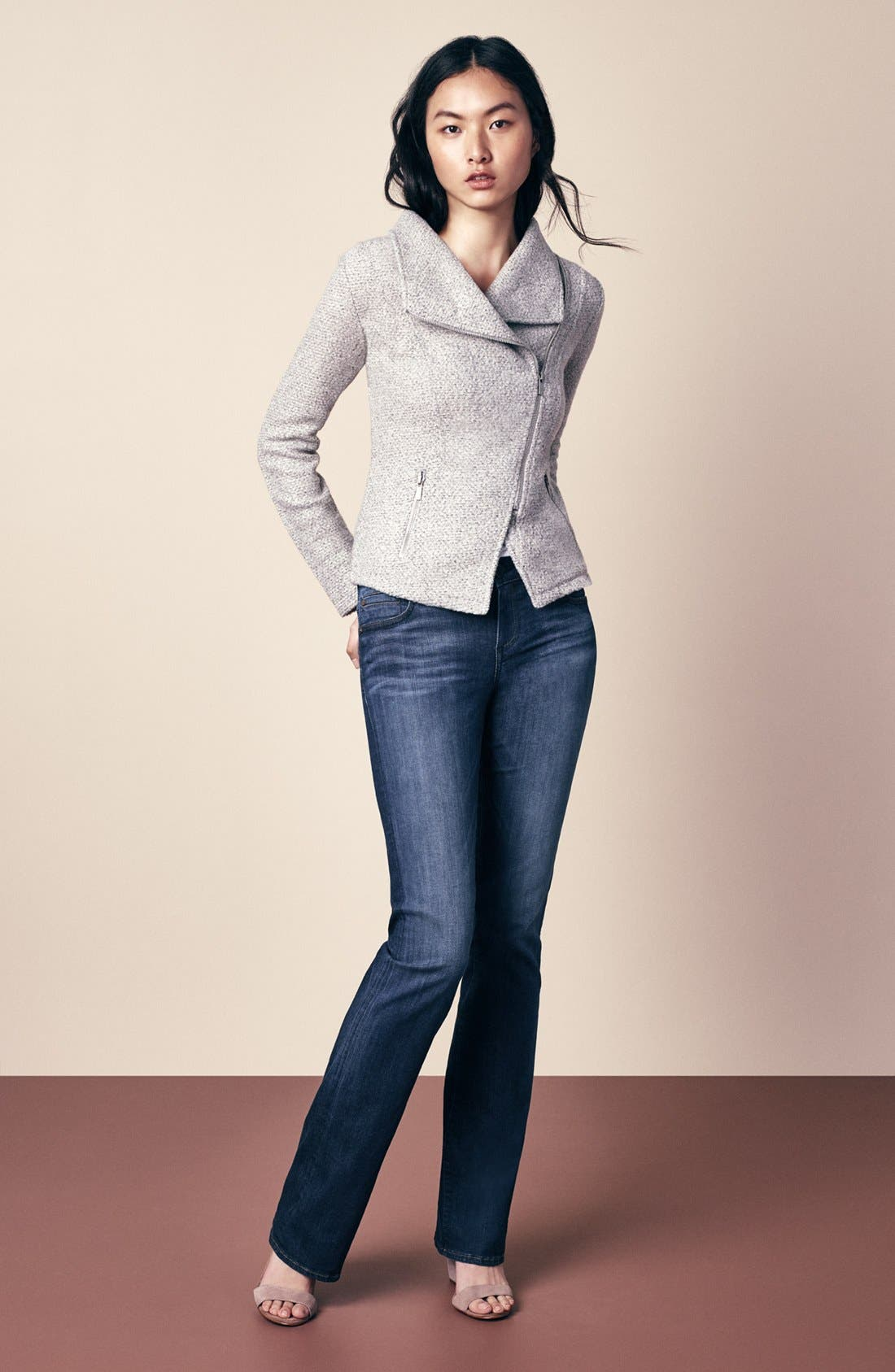 Alternate Image 6  - KUT from the Kloth 'Natalie' Stretch Bootcut Jeans (Adaptive) (Regular & Petite)
